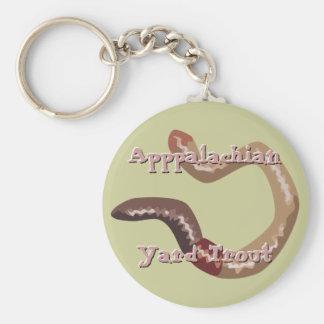 Earthworm Keychain