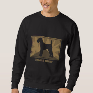 Earthy Airedale Terrier Sweatshirt