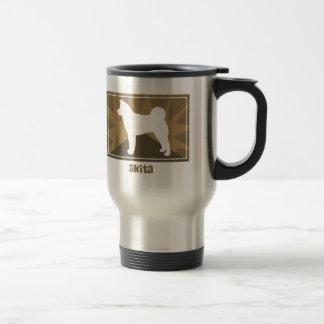 Earthy Akita Travel Mug