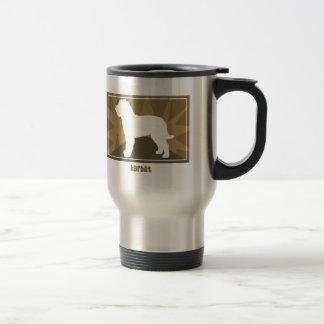 Earthy Barbet Stainless Steel Travel Mug