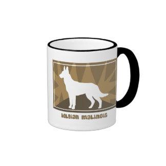Earthy Belgian Malinois Coffee Mug