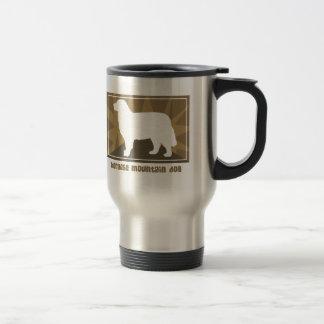 Earthy Bernese Mountain Dog Gifts Stainless Steel Travel Mug