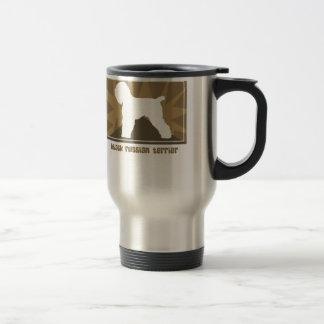 Earthy Black Russian Terrier Stainless Steel Travel Mug