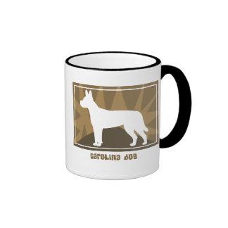 Earthy Carolina Dog Ringer Mug