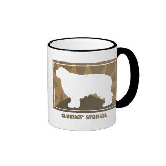 Earthy Clumber Spaniel Ringer Mug