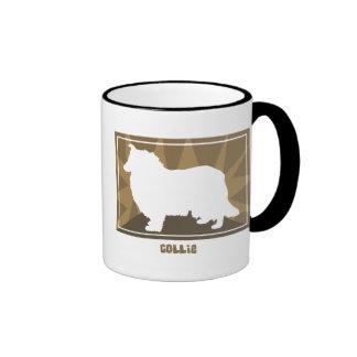 Earthy Collie Coffee Mug