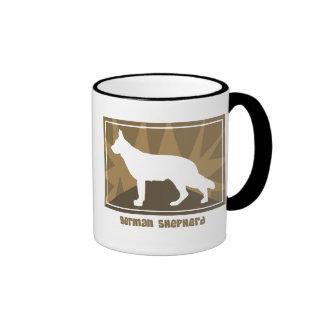 Earthy German Shepherd Mug