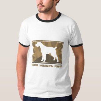 Earthy German Wirehaired Pointer T-Shirt