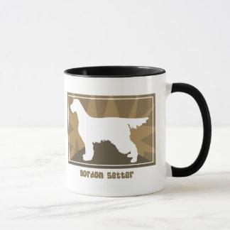 Earthy Gordon Setter Mug