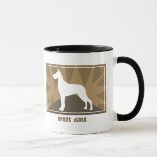 Earthy Great Dane Mug