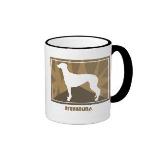Earthy Greyhound Mug