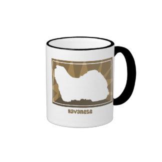 Earthy Havanese Coffee Mug