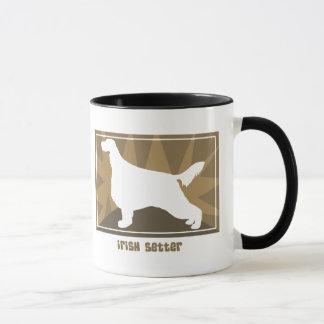 Earthy Irish Setter Mug