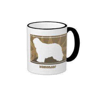 Earthy Komondor Coffee Mugs