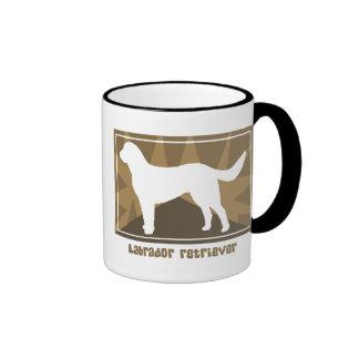 Earthy Labrador Retriever Ringer Mug