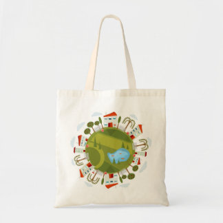 Earthy Living Budget Tote Bag