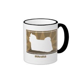 Earthy Maltese Mug