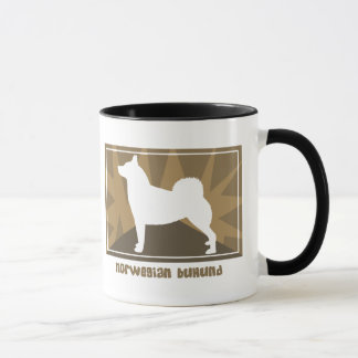 Earthy Norwegian Buhund Mug