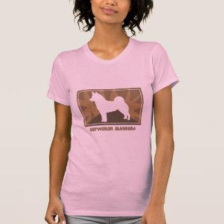 Earthy Norwegian Elkhound T-Shirt