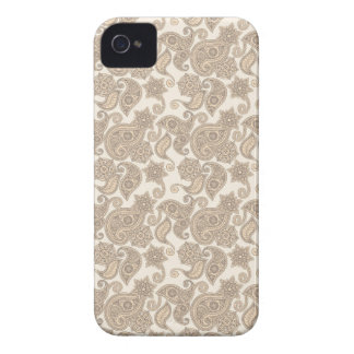 Earthy Paisley iPhone 4 Cases