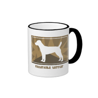 Earthy Patterdale Terrier Mug