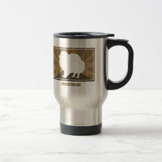 Earthy Pomeranian Travel Mug
