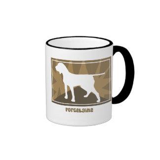 Earthy Porcelaine Mugs