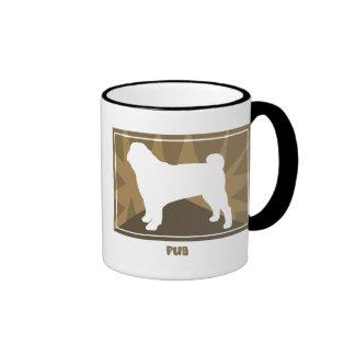 Earthy Pug Coffee Mugs