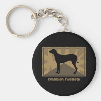 Earthy Rhodesian Ridgeback Keychain