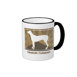 Earthy Rhodesian Ridgeback Mug