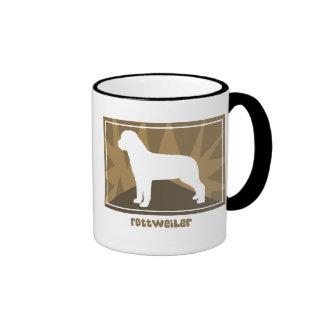 Earthy Rottweiler Mug