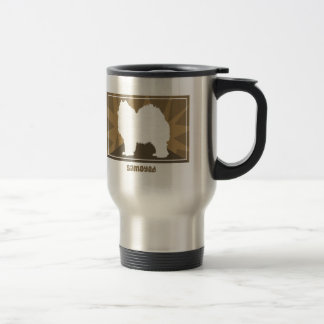 Earthy Samoyed Travel Mug