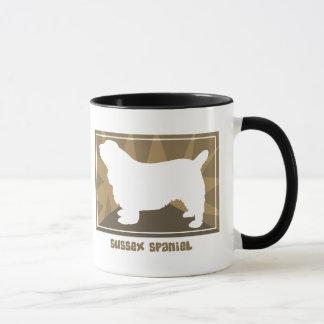 Earthy Sussex Spaniel Mug