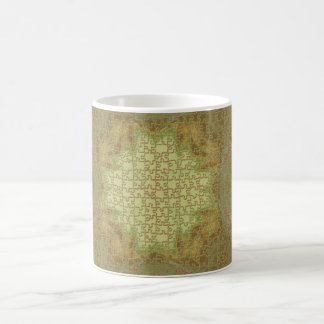 earthy texture basic white mug