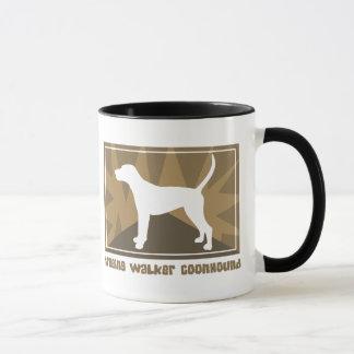 Earthy Treeing Walker Coonhound Mug