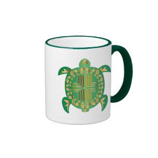 Earthy-Turtle Ringer Mug