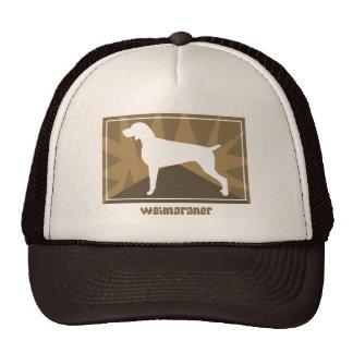 Earthy Weimaraner Hat