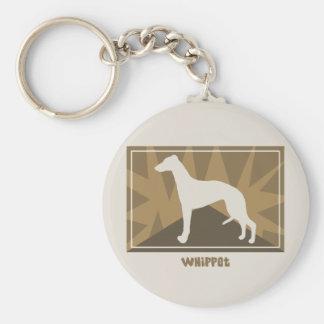 Earthy Whippet Key Ring