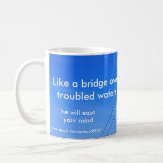 Ease your mind mug. basic white mug