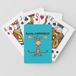 "Easily A'Moose""d Poker Deck"
