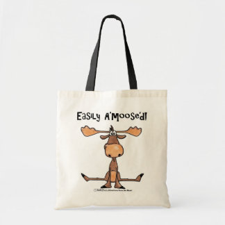 Easily A'moose'd Tote Bag