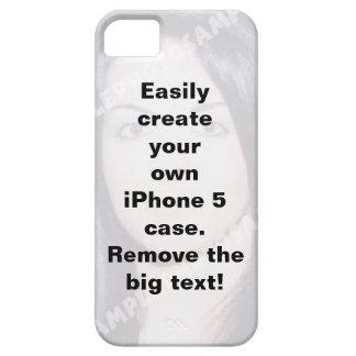 Easily create your iPhone 5 custom case