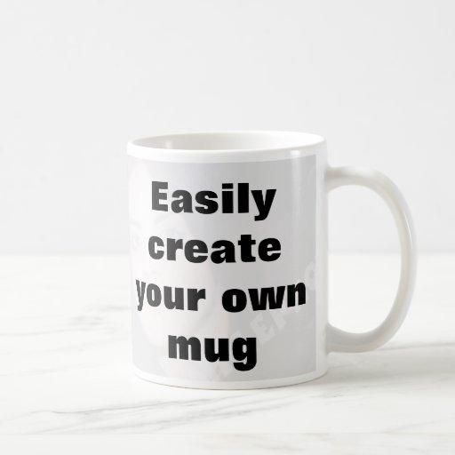 Easily create your own mug Remove the big text!