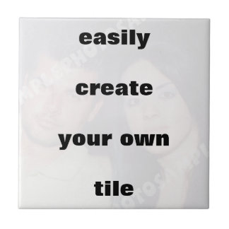 Easily create your own tile Remove the big text!