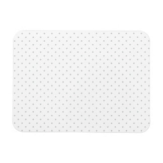 Easily Customize Color from Grey Mini Polka Dots Magnet