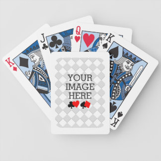 Easily Make Your Own Blue Theme Deck in One Step Bicycle Poker Deck