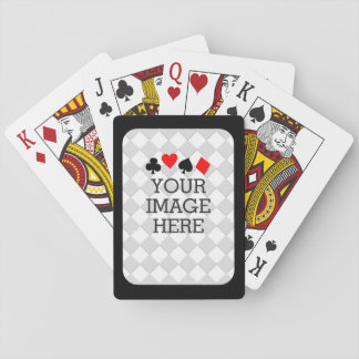 Easily Make Your Own in One Step with Black Frame Poker Deck