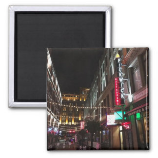 East 4th Street, Cleveland, Ohio Photo Magnet