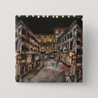 """""""East 4th Street Moment"""" Cleveland, Ohio Button"""