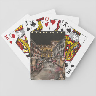 """""""East 4th Street Moment"""" Cleveland, Playing Cards"""